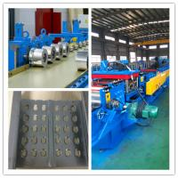 Buy cheap Fully Automatic PLC control system cable tray roll forming machine 20 roller stations cold sheet from wholesalers