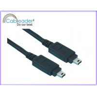 Buy cheap IEEE 1394 Firewire Cable 4 pin Male for high-speed communications, real-time data transfer from wholesalers