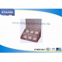 Buy cheap Cardboard Floor Display Stand , Paper Counter Display with Tier for Cosmetic from wholesalers