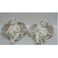 China Thinking cherub Angel Collectible Figurines statue collection for mothers day gift on sale