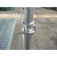 Buy cheap Brackets Highly Damage Resistant Vertical Cuplock System Scaffolding Tower from Wholesalers