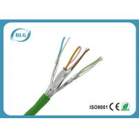 Buy cheap Twisted Pairs Ethernet Cat6a Lan Cable For Computer High Frequencies from wholesalers