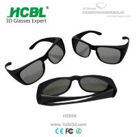 Buy cheap Universal Plastic Reald 3D shutter glasses / 3D Glasses oculus from wholesalers