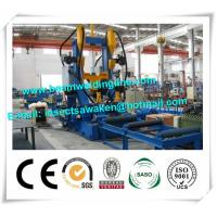Buy cheap H Beam Straightening Machine , H Beam Welding Line Integrated Machine from wholesalers