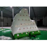 Buy cheap Giant White 0.9mm PVC Inflatable Water Parks Amazing Inflatable Floating Iceberg from Wholesalers