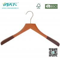 Buy cheap Wooden Coat Hanger With Non-Slip Shoulder from wholesalers