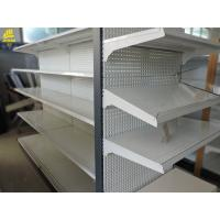 Buy cheap Heavy Duty Hypermarket Racks120KG/ Layer Load Cream White Color Steel from wholesalers