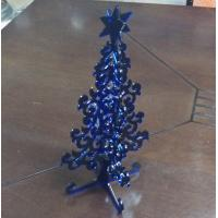 Buy cheap Blue christmas tree  pop display stand , transparent christmas decoration product