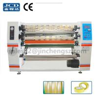 Buy cheap JC-210 high Speed BOPP tape slitter rewinder machine from wholesalers