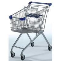 Buy cheap European Style Wire Shopping Baskets Metal Wire Mesh Store 790×490×945 from wholesalers