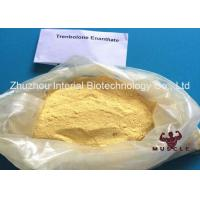 Buy cheap Effective Trenbolone Enanthate Injection , Parabolan Steroid Yellow Powder For Fat Loss from wholesalers
