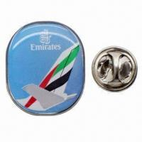 Buy cheap Pin/Badge/Emblem, Suitable for Awards, Promotions, Give-aways, Collections and Souvenirs from wholesalers