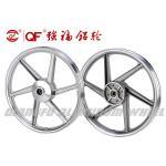 Buy cheap Factory direct motorcycle aluminum wheel rim aluminum wheel hub 17inch silver from wholesalers
