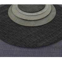 Buy cheap Plain Weave Wire Mesh Discs , Stainless Steel Wire Cloth Discs Plastic Extruder from wholesalers