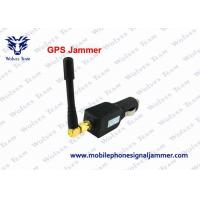 Buy cheap Compact Structure GPS Tracker Jammer , Car GPS Blocker 21dbm / 128mW Output Power from wholesalers