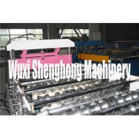 Buy cheap First-rate Tile Roof  Roll Forming Machine with Topmost Hydraulic Station from wholesalers
