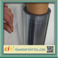 Buy cheap Transparent 100 PVC Self Adhesive Film , Cold Lamination PVC Decorative Film from Wholesalers