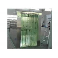 Buy cheap PVC Curtain Door Clean Room Air Shower SUS 304 Material Cabinet from wholesalers