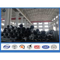 Octagonal 3mm steel tube Q345 Material Electricity transmission galvanized steel pipe