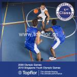 Buy cheap Indoor vinyl flooring sports basketball flooirng wood flooring from wholesalers