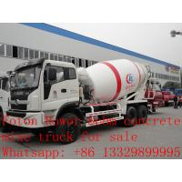 Buy cheap 2017s new best price 8m3 FOTON ROWOR 6x4 concrete mixer truck for sale, factory sale good price cement mixer truck from wholesalers