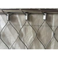 Buy cheap Classical Inox Balustrade Cable Mesh , X Tend Stainless Steel Rope Mesh Webnet from wholesalers