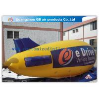 Buy cheap Zeppelin Shape Inflatable Outdoor Advertising Balloons Heat Transfer Printing product