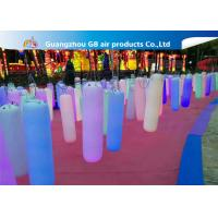 Buy cheap Waterproof Inflatable Holiday Decorations / Inflatable Post With LED Light product