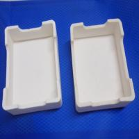 Buy cheap Low Expansion Coefficient Ferrules Kiln Ceramic Alumina Plate product
