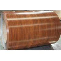 Buy cheap DX51D Grade Soft Quality  Printed Wood Color Steel Coil for Wall Decoration and Panel Production from wholesalers