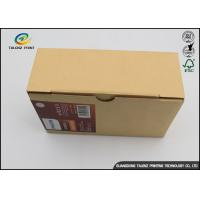 Buy cheap Colorful Paper Corrugated Packaging Box Customized Size For Mobile Phone Shell from wholesalers