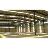 Buy cheap Prefab Steel Structure Construction / Warehouse Steel Frame Construction from wholesalers