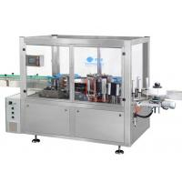 Buy cheap Anti Corrosion Bottle Sticker Labeling Machine Hot Melt Linear L1800 W1800 H1900 from wholesalers
