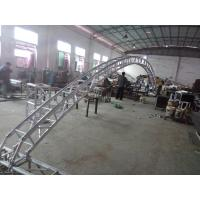 Buy cheap Black 300*300*12m Length Arch Spigot Connection Aluminum Stage Truss Strong Loading Capacity from wholesalers