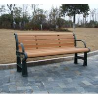 Buy cheap Anti-UV WPC Outdoor Furniture and Waterproof Wood Color Park / Garden Bench from wholesalers