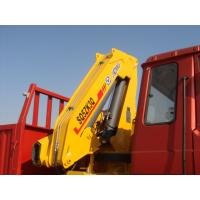 China Effective 5T Knuckle Boom Truck Mounted Crane Lifting For Landscape Jobs on sale