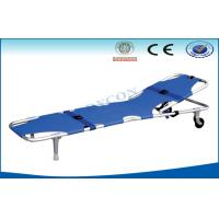 Buy cheap Foldable Adjustable Ambulance Stretcher , Patient Foldaway Stretcher from wholesalers