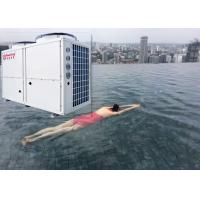 Buy cheap Meeting Galvanized Steel Sheet 50kw 380V Air Source Heat Pump Constant Temperature 38℃ Swimming Spa Pool Pump from wholesalers