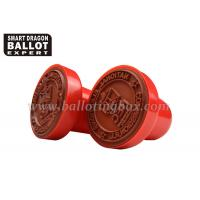 Buy cheap Plastic Automatic Small Custom Rubber Stamps With PE Foam Pad , Small Ink Stamps from wholesalers