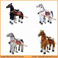 Buy cheap Adult Mechanical Horses is Not a Rocking Horse, it's a moving pony, ride on it and run! from wholesalers