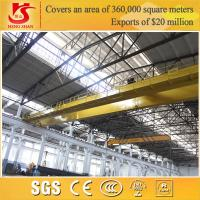 Buy cheap Rail mounted double girder overhead lifting euro crane 50 ton crane from wholesalers