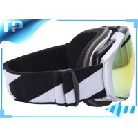 Buy cheap Adult Over The Glasses Ski Goggles / Black Snowboard Goggles For Skiing from wholesalers