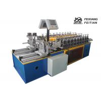 Buy cheap Double Line Furring Channel Roll Forming Machine PLC Control For Construction from wholesalers