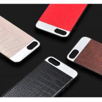 Buy cheap TPU PC PU leather metal 4 in 1 Upscale business luxury crocodile leather pattern phone case cover for iPhoneX 8 7 6Splus from wholesalers
