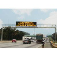 Buy cheap Waterproof P8 Traffic Outdoor LED Displays Message Sign Board SMD3535 Full Color from wholesalers
