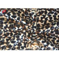 Buy cheap Stretching Polyester Spandex Velvet  Fabric , Printed Warp Knitting Fabric from wholesalers
