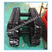 Buy cheap factory directly offered 1 ton rubber track undercarriage for construction machinery (RT1500) from wholesalers