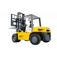 Buy cheap Rated capacity 5000kg gas powered forklift With front dual pneumatic tyres from wholesalers
