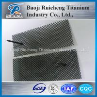 Buy cheap Factory supply titanium perforated plate from wholesalers