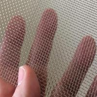 Buy cheap 8 mesh 0.6mm wire diameter SS 304 woven wire mesh for filtration and industry use from wholesalers
